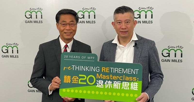 左起:駿隆集團常務董事陳銳隆、駿隆集團執行董事王玉麟