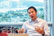 仲量聯行大中華區及香港研究部主管黃志輝表示:「香港近年很多人這麼多不滿,原因是他們買不到樓,即使買到亦是很細的單位。」(李紹昌攝)