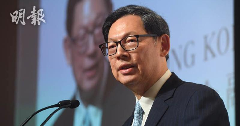 陳德霖成立圓幣錢包公司並出任董事會主席
