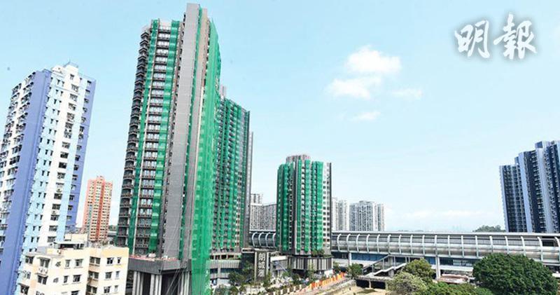 朗城滙本月暫錄17宗租賃 3房月租2.15萬