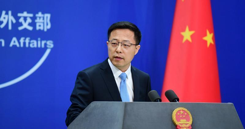 中國外交部發言人趙立堅(資料圖片)
