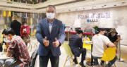 嘉華國際營業及市場策劃總監(香港地產)温偉明(圖)表示,近期樓市整體氣氛轉好,今日購入嘉峯匯的買家不乏長綫投資者。