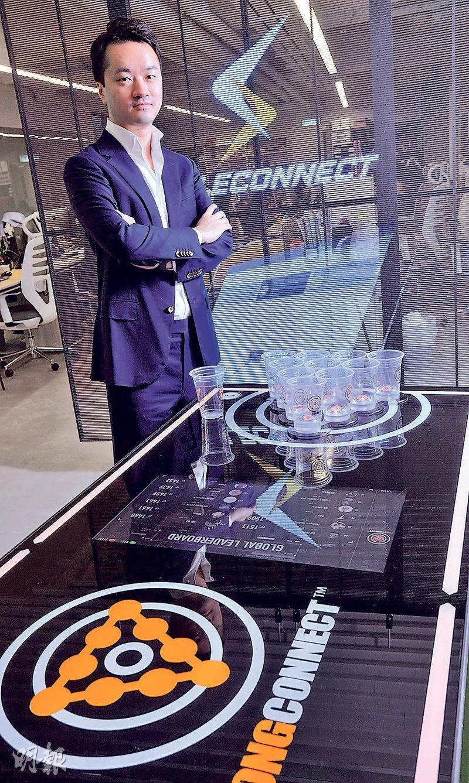 長實執行董事趙國雄兒子趙朗(圖)旗下Atalon Ventures 推 iSaleConnect 系統,協助港中小企結合門市和網銷平台。(劉焌陶攝)