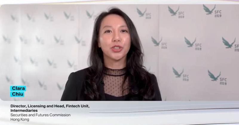 證監會中介機構部發牌科總監兼金融科技組主管趙嘉麗