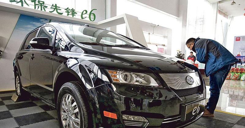 比亞迪創新高 上月新能源車銷售增85%