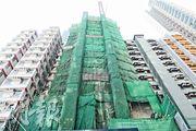 佳兆業與宏達合作發展深水埗醫局街弦雅,樓花期13個月,提供95伙。(朱安妮攝)