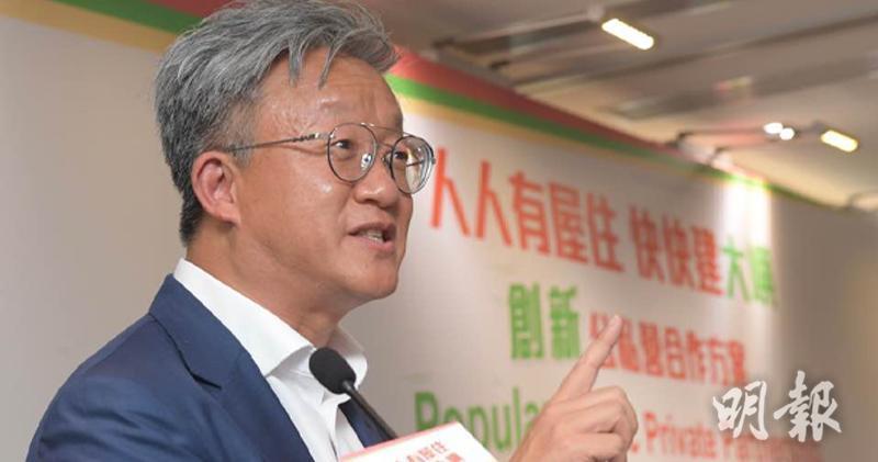 慷慨資本主席及行政總裁的王兟(劉焌陶攝)