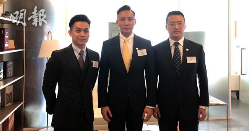 左起:德林控股合伙人兼德林證券首席執行官郎世杰、德林控股聯合創始人兼首席執行官陳寧迪、德林控股首席市場官兼德林控股中國聯席主席