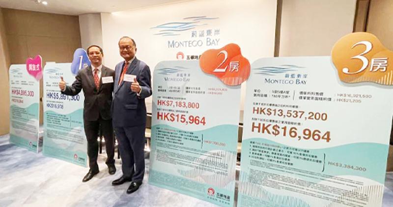蔚藍東岸首推138伙折實1.76萬 與去年初䂀臺首批相若