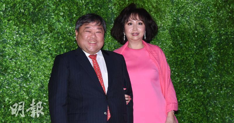 有線寬頻主席邱達昌確診新冠肺炎,其妻吳惠平早前已確診。(資料圖片)