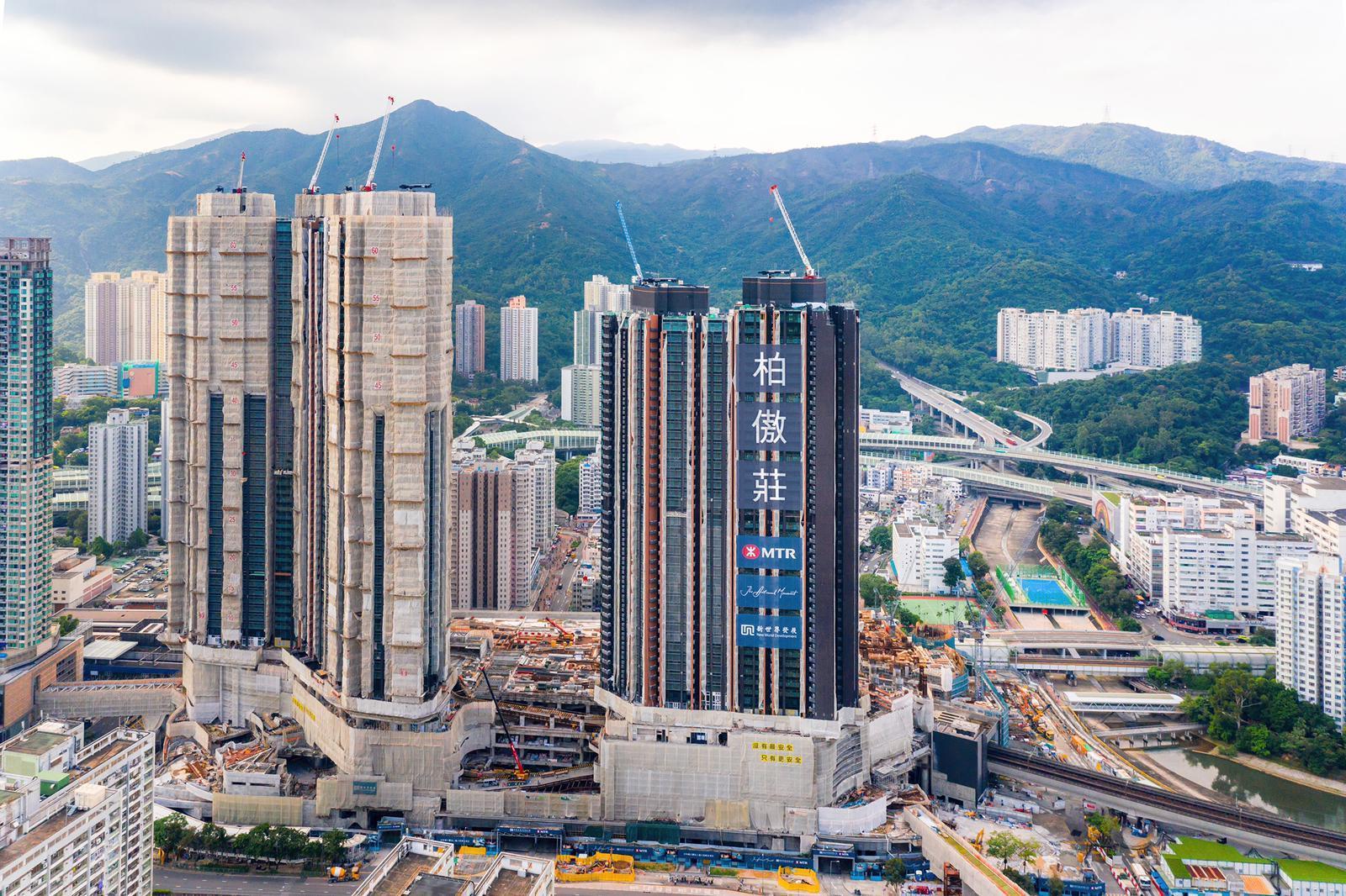 柏傲莊II一房特色戶實呎破3萬 料創新界一房新高