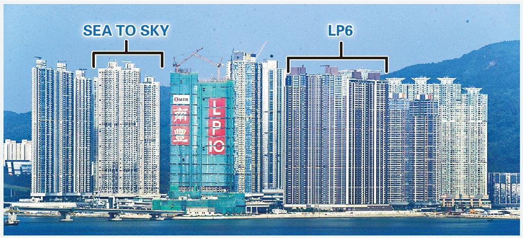 部分貨尾盤在二人限聚令下舉行銷售活動,其中日出康城的SEA TO SKY將於周五推售285伙,同區的LP6亦在周六重推餘下全數49個單位。(郭慶輝攝)