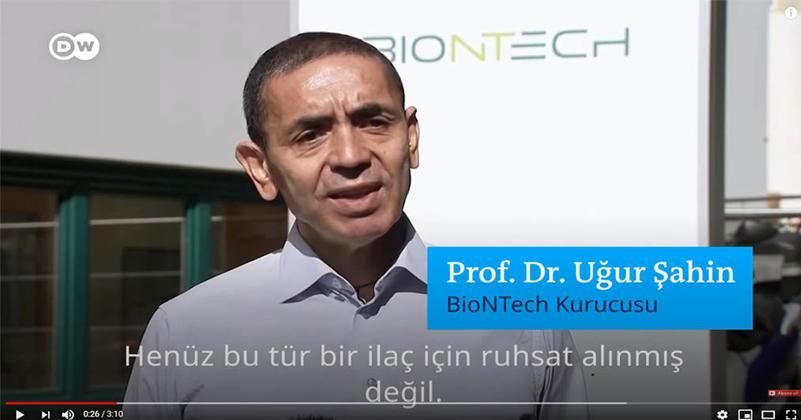 Ugur Sahin (資料圖片)