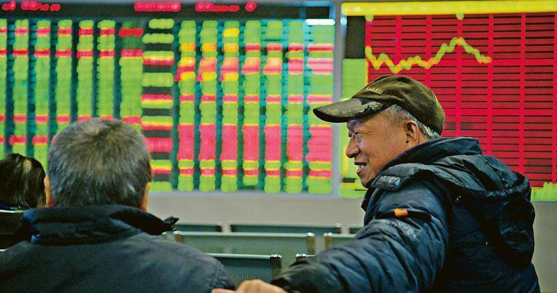 滬指獨憔悴 半日跌0.2%