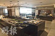 現有4間食肆已開幕,其中包括中西式餐廳,並提供自助餐。