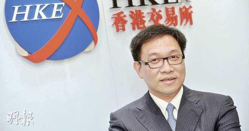 港交所代理行政總裁戴志堅。(資料圖片)