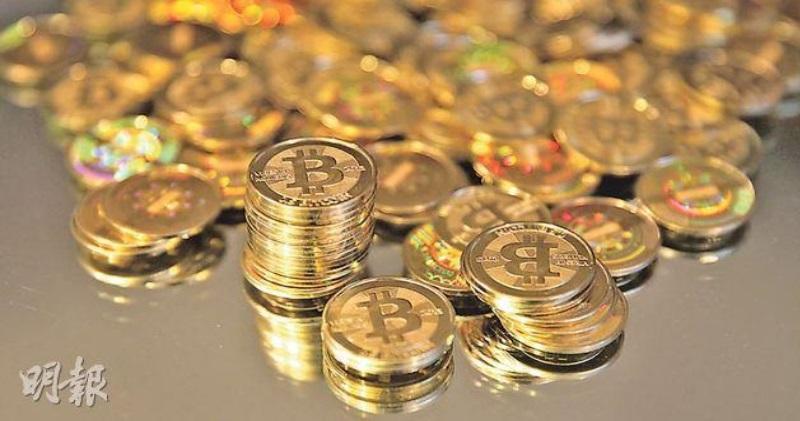 以太幣破頂升穿1000美元 創新高,圖為比特幣