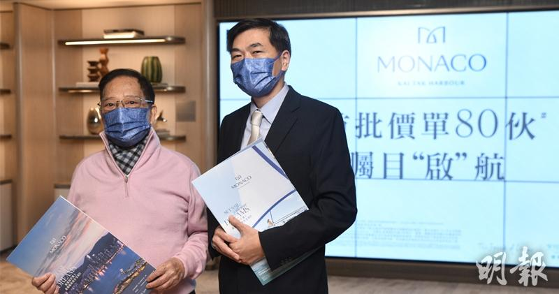 梁志堅(左) 馮凱鍵攝