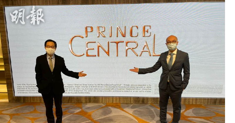 雷霆(左)、唐錦江。林尚民攝