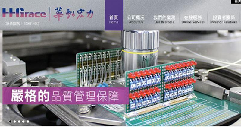 華虹半導體去年全年銷售收入升3%