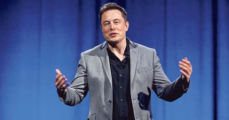 Tesla行政總裁兼SpaceX創辦人馬斯克(Elon Musk)