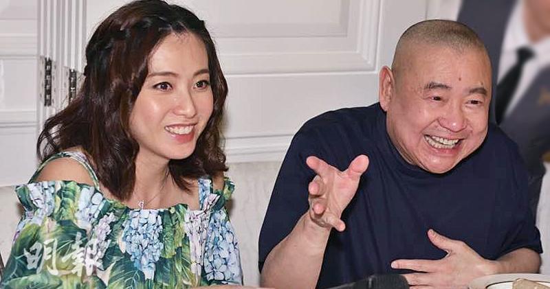 華置前任董事會主席劉鑾雄(右)及其太太陳凱韻(左)(資料圖片)