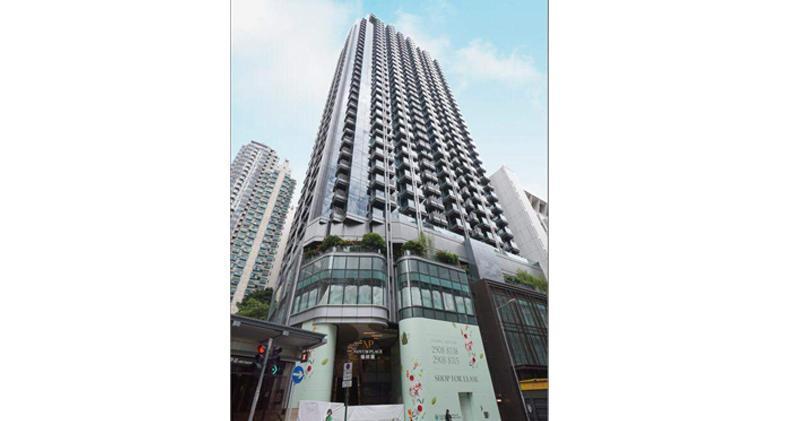 翰林峰2房連天台3450萬沽 實呎4.75萬
