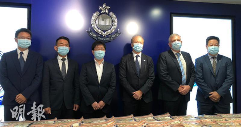 「微信女」案被捕12人多涉親屬關係 部分在券商任職(馬迪帆攝)
