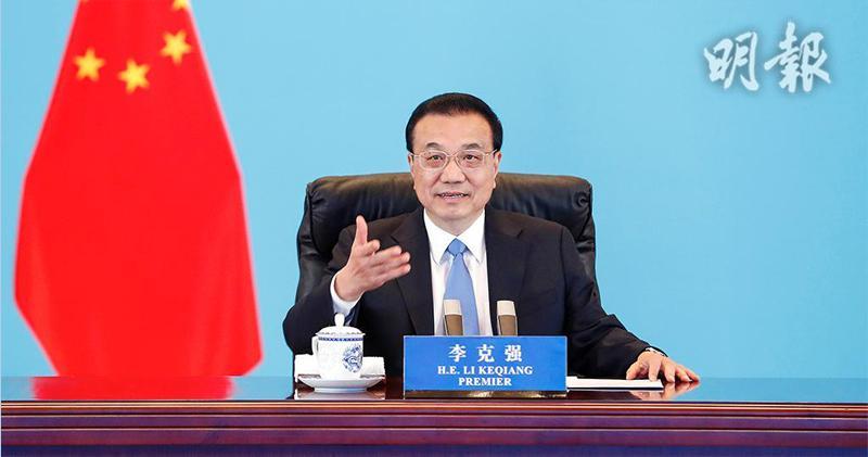 中國總理李克強:6%經濟增速已不低