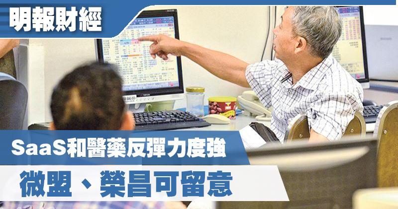 【選股王】SaaS和醫藥反彈力度強 微盟、榮昌可留意