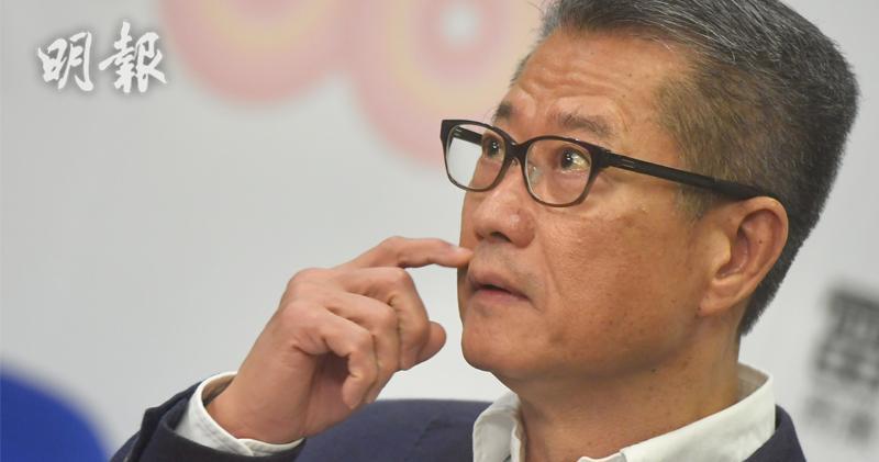 陳茂波重申香港核心競爭力不變