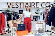 Vestiaire Collective聯合創始人及主席Fanny Moizant表示,雖然整體奢侈品銷售或受到疫情影響而下跌,但二手市場有更大發展空間。(鍾林枝攝)