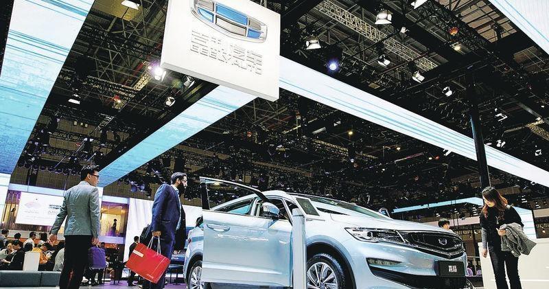 吉利去年純利55億元 減派息至0.2元 今年汽車銷售目標升16%
