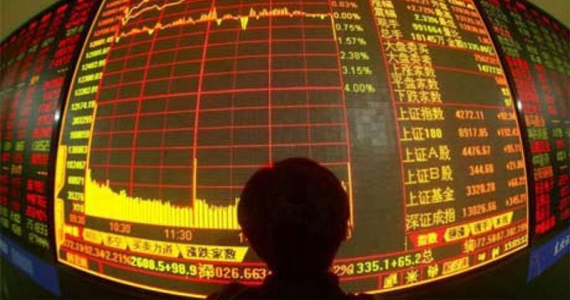 内地股市低開低走 滬指3400點得而復失