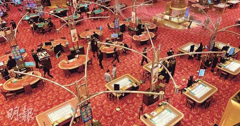 澳門博彩業3月毛收入逾83億 按年增近58%
