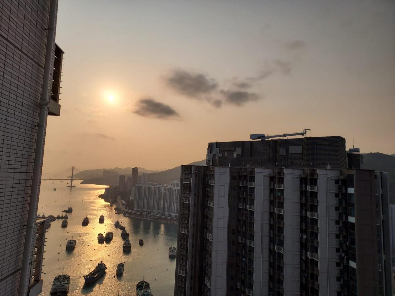 海之戀2房升穿1100萬破頂。圖為破頂單位景觀。