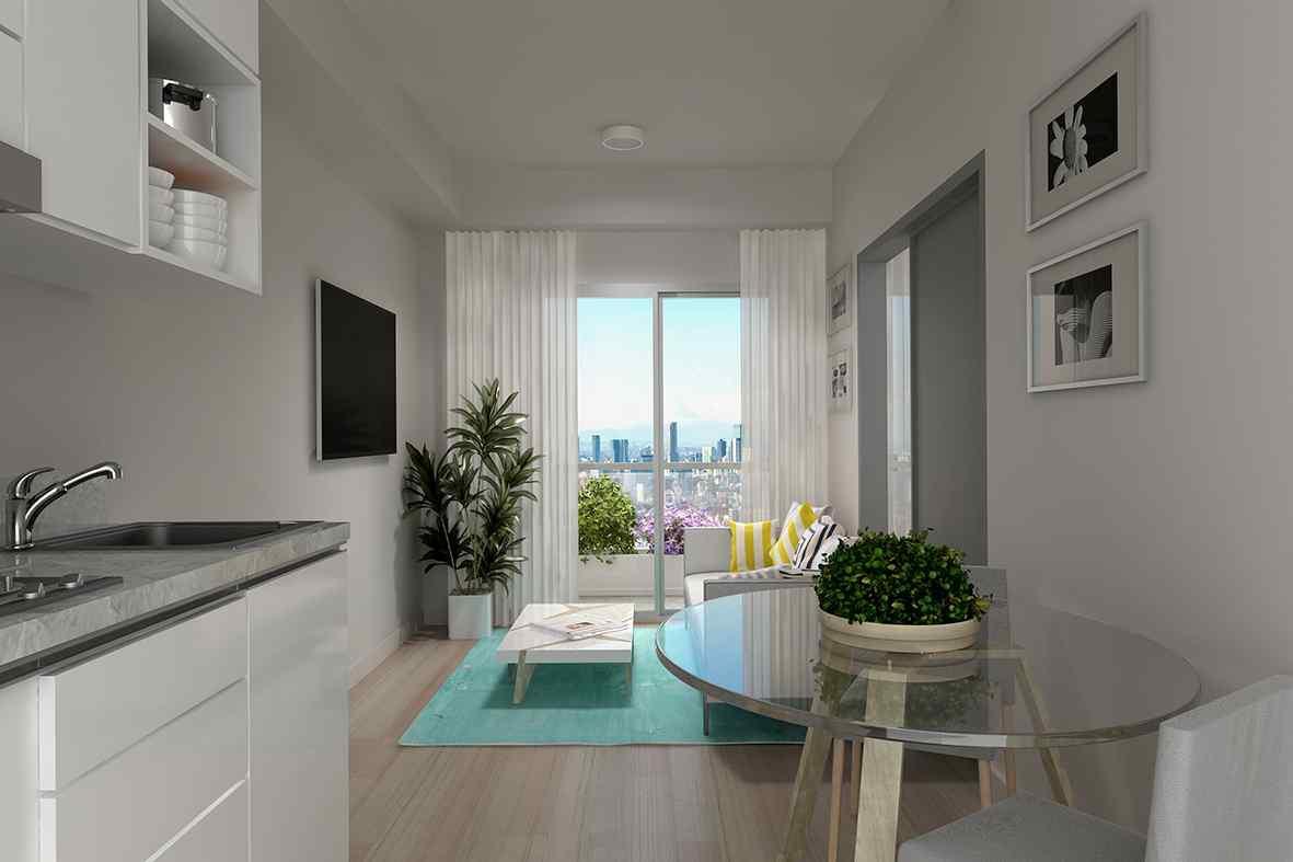 1房單位面積達324平方呎,也較一 般民宿要求的25平方米(約269平方呎)以上為多。