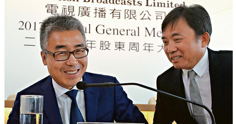 黎瑞剛(左)