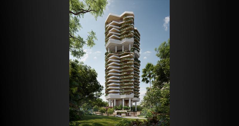信德推出新加坡首個住宅盤「柏皓」