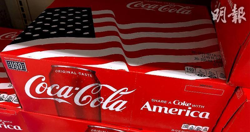 可口可樂上月銷量回復疫前水平 首季盈利跌兩成