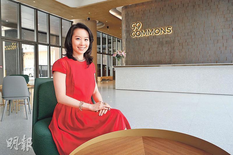 顧曉楠成立SAGE智銳物業,把家族持有屯門杯渡路凍倉重建成新式工廈99 COMMONS,為該區近20年來首個全新落成工廈。(曾憲宗攝)