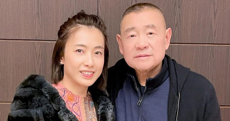 甘比伙華置再認購佳兆業債劵 涉資23.4億。圖為劉鑾雄及陳凱韻。