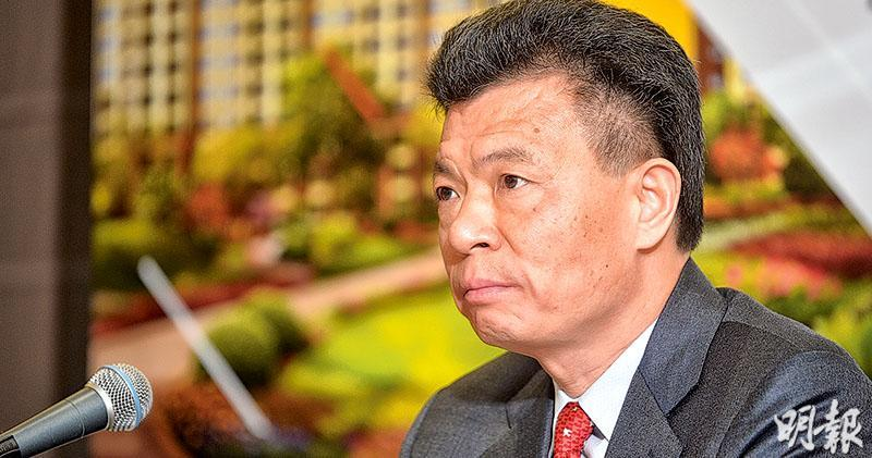 佳兆業1.4億購鵬程亞洲三成股權 將提現金要約。圖為佳兆業主席郭英成。