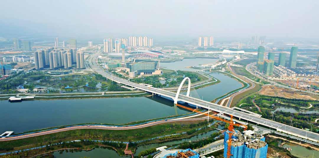 肇慶的基礎建設發展良好,有利未來發展。