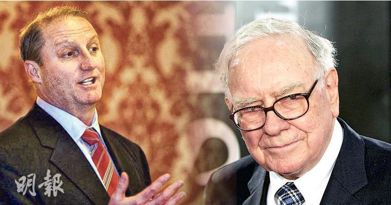 巴菲特確認接班人 巴郡副主席Greg Abel成未來舵手。左為Greg Abel,右為巴菲特。
