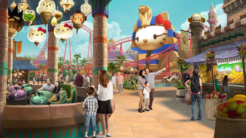 富德集團的Hello Kitty度假村,是海南島首個 國際IP品牌主題樂園。