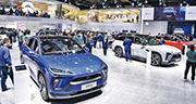 內地有不少品牌的新能源車可供選擇,較多港人熟悉的外國品牌包括Tesla、Audi(奧迪)及Volvo(富豪)等,不過市場上亦有不少價錢較廉宜的國產電動車可供選擇。(法新社)