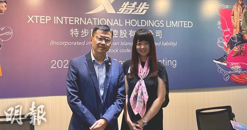 楊鷺彬(左)