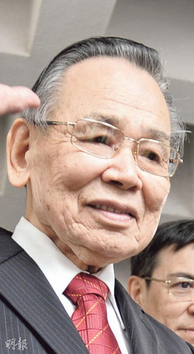 鄺準(圖)服務新鴻基地產近49年,並擔任執行董事超過28年,新地表示,集團仝人對鄺準逝世深表哀悼。