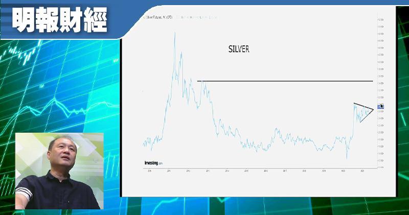 【有片:淘寶圖】白銀或隨通脹急飈突破重要阻力